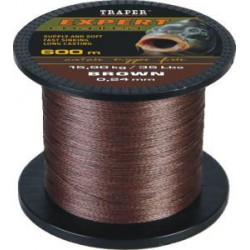 Plecionka Expert - brown 600 m / 0,24 mm / 15,90 kg / 35 lbs   1