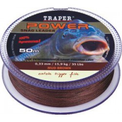 Plecionka Power carp 50 m / 0,38 mm / 20,50 kg / 45 lbs    1 szt