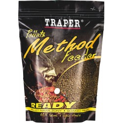 Method feeder pellet ready 500g-Halibut czarny 2mm