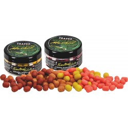 Mini boilies method feeder 50g Halibut Czerwony 9mm 50g